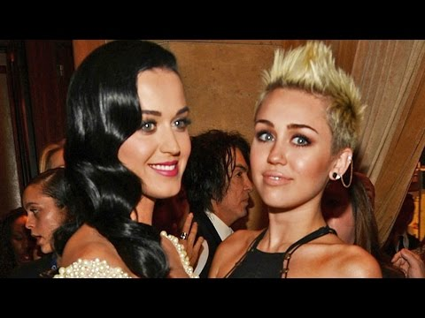 Miley Cyrus Says Katy Perry Wrote I Kissed a Girl About Her, Reveals Song Shes Sick of Performing