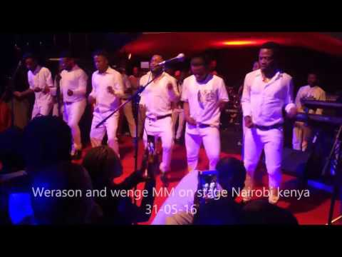 Werason and wenge MM concert at carnivore,Nairobi, kenya 31 05 2016