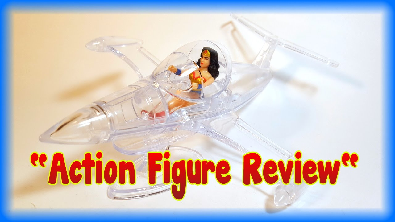 Legion of Collectors exclusive mini Wonder Woman & Invisible Jet review (September 2016) - YouTube
