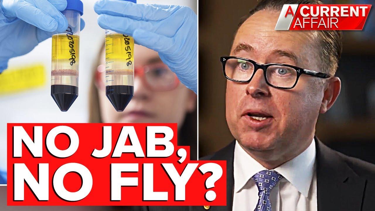 Qantas boss says COVID-19 vaccination compulsory for international flights   A Current Affair