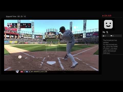 TheBranMan86's Live PS4 Broadcast Sox Vs Royals GM 1