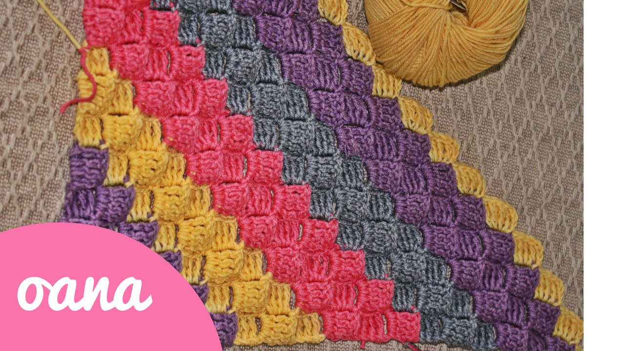 Crochet C2c With The Triple Crochet Youtube