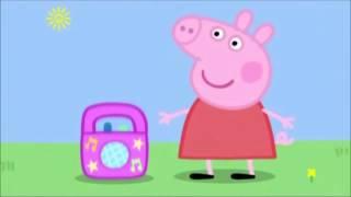 peepa pig listens to grown up music
