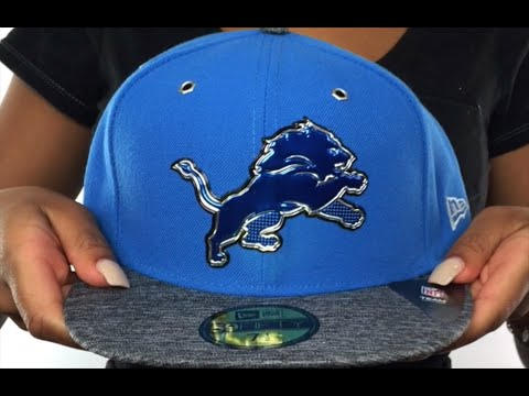 Lions  2016 NFL DRAFT  Fitted Hat by New Era - YouTube cadb6d1aa05