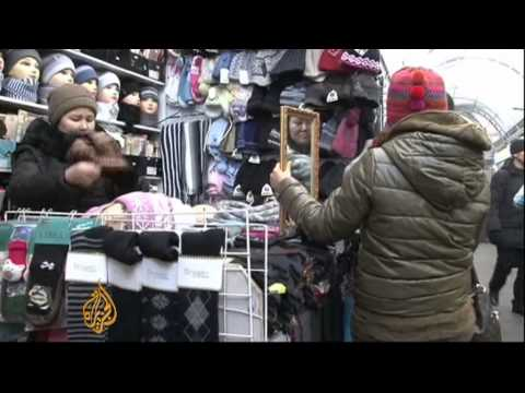 Kazakhstan mall caters to new rich