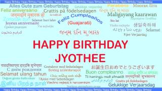 Jyothee   Languages Idiomas - Happy Birthday