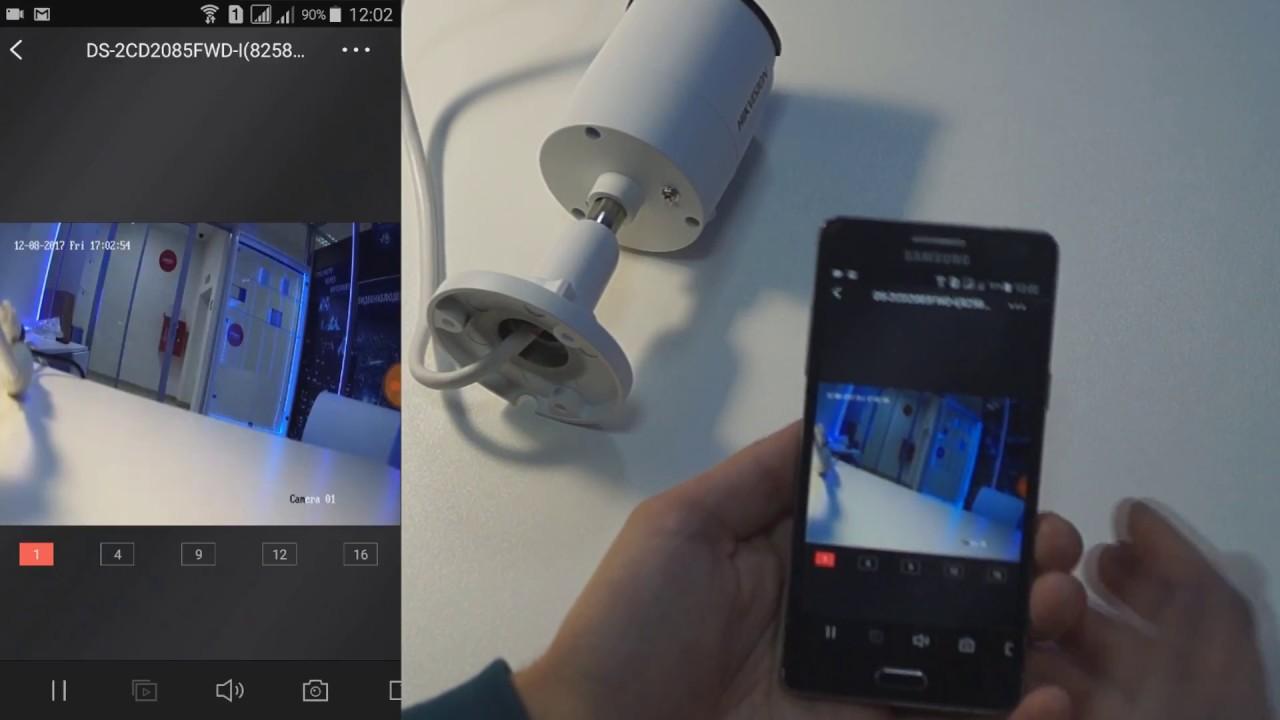 Подключение ip камеры Hikvision к интернету через Hik-Connect