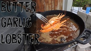 VLOG 17 | How to Cook Caribbean Spiny Lobster with Garlic Butter SauceCatch n Cook  FFA