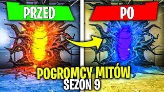 NISZCZE WSZYSTKIE PORTALE W FORTNITE !! POGROMCY MITÓW SEZON 9 !!