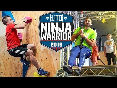 NINJA WARRIOR CHALLENGE!!!   Elites