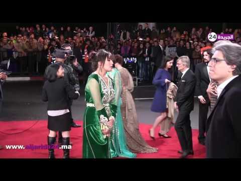 زوجة أسامة البسطاوي تخطف الأنظار في حفل افتتاح مهرجان مراكش