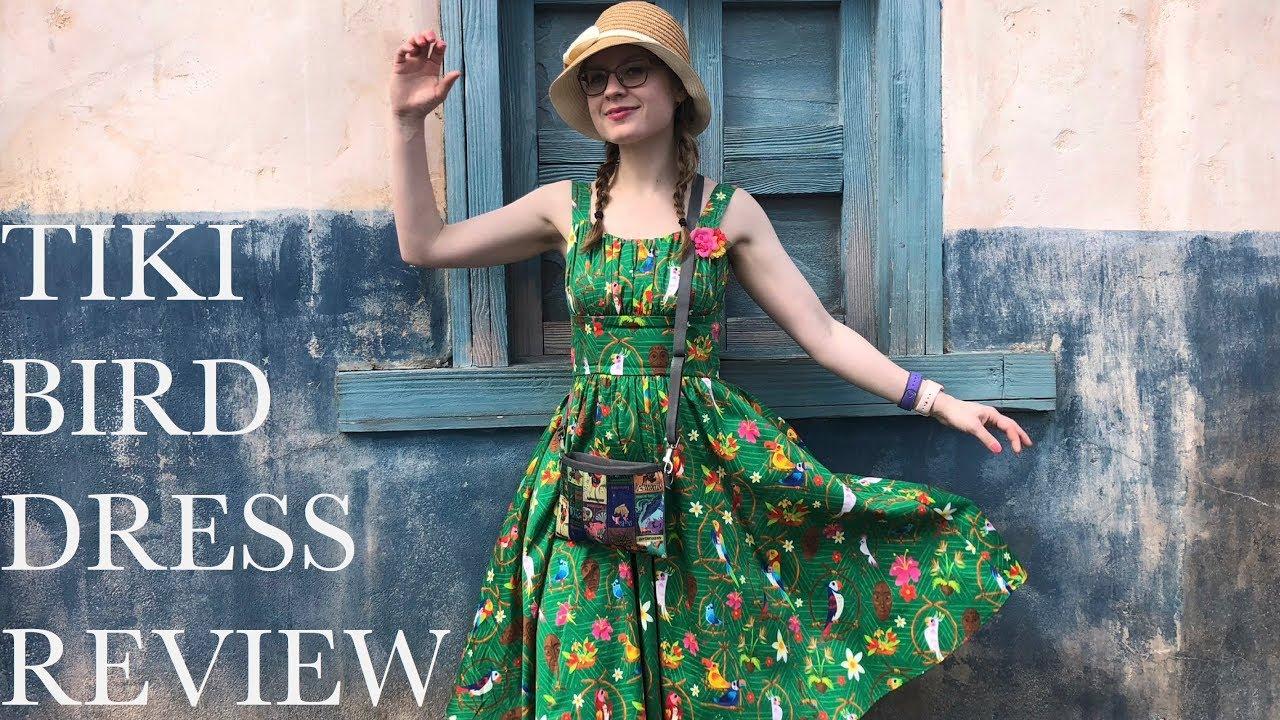 Disney Parks Enchanted Tiki Room Dress The Dress Shop S