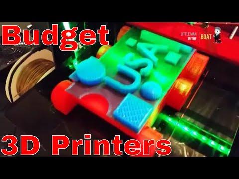 3D Budget Printers Inventions - Affordable 3D Home Printers- NX1,RoVa3D,101Hero,RoVa4D,PeachyPrinter