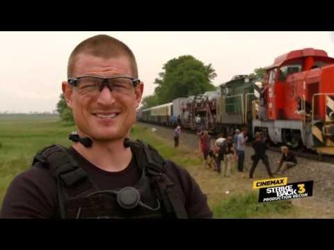 Strike Back Season 3: Production Recon #9 - Train Wreck (Cinemax)