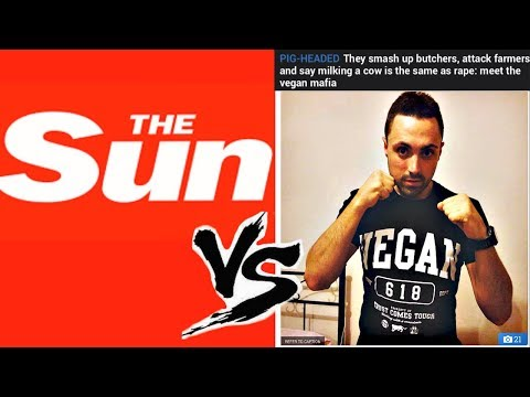 The Sun Newspaper EXPOSES The Vegan MAFIA