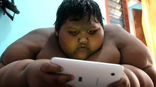 Das ist der fetteste Junge der Welt! Die Aufnahmen schockieren!