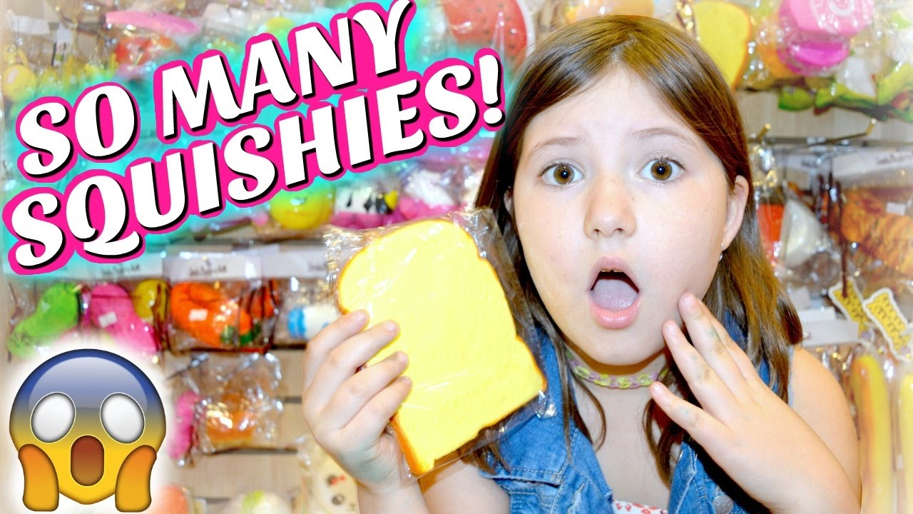 SQUISHY HUNTING AT MICHAELS CLAIRE S & TOKYO WORLD!! ~Collab with Kawaii Squishies Sedona Fun ...