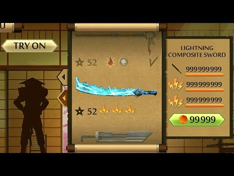 Shadow Fight 2 The Most Powerful Lightning Composite Sword