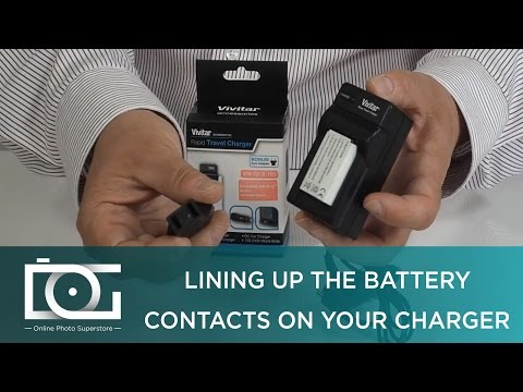 CAMERA CHARGER TUTORIAL | How To Charge A Vivitar Battery On A Rapid Travel Charger