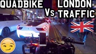 QUADBIKE VS LONDON TRAFFIC!! *YAMAHA RAPTOR 700R 2017*