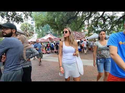 अमेरिका का रविवार बाजार..USA Farmers Market (ORLANDO FLORIDA)