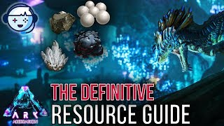 Ark Tutorial: Aberration Resource Guide | Oil, Crystal, Metal, Pearls, Gems | Ark: Survival Evolved