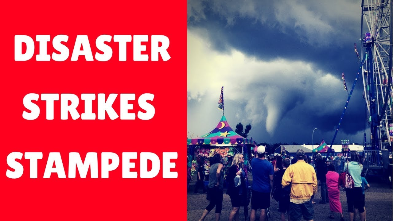 Calgary Stampede Windstorm 2019 Elbow River Camp Youtube