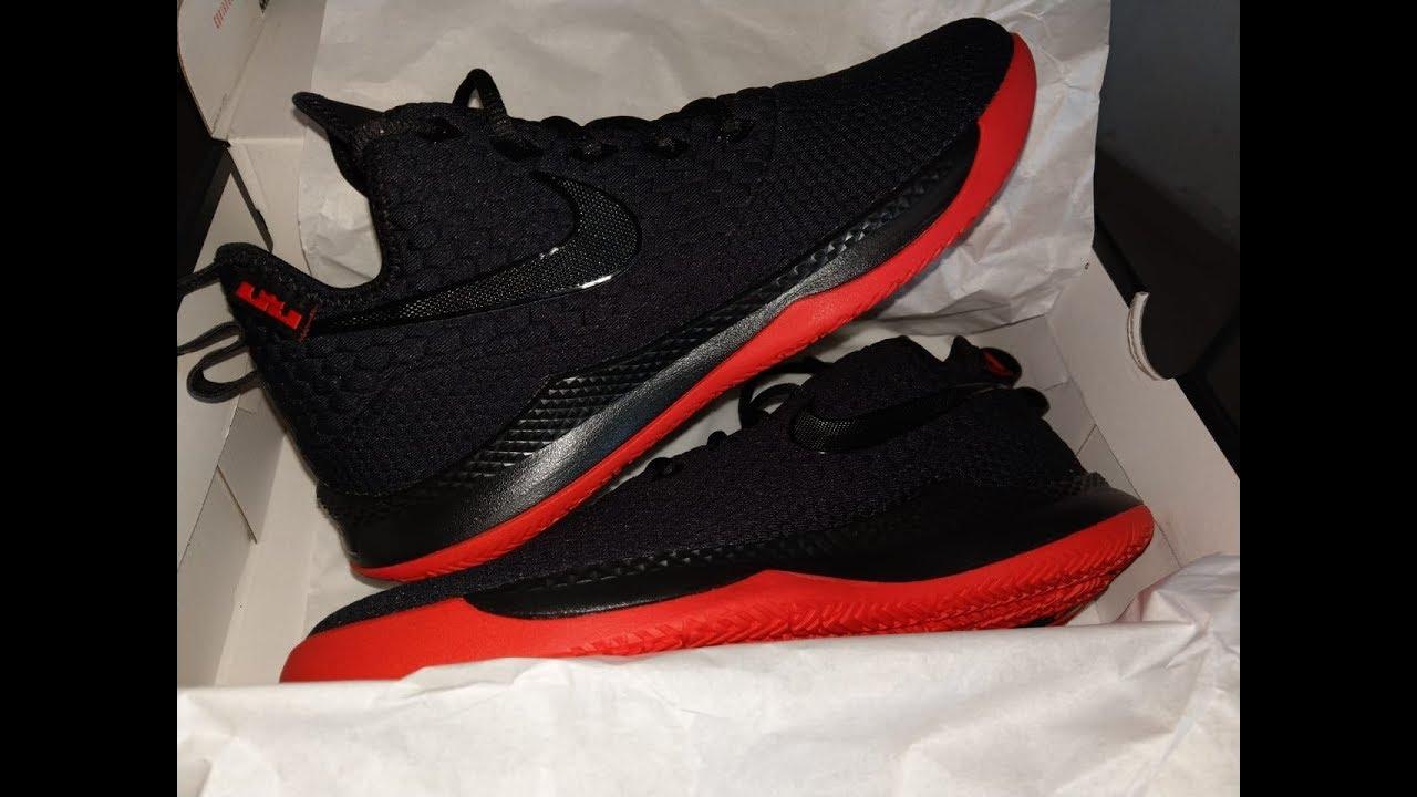 8bd9ad4bb073b Nike Lebron Witness III 3 Vistazo y algunos detalles - YouTube