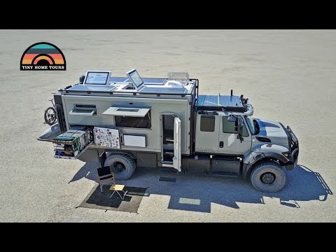 Global Expedition Vehicles - Safari Extreme - Full Tour & What It's Like To Live In One