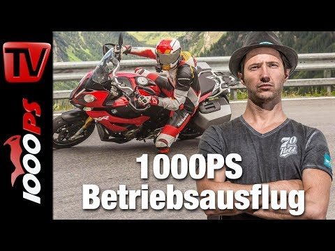 BMW S 1000 XR vs BMW R 1200 GS vs. KTM Super Duke GT vs. Ducati Multistrada - Vergleichs Test Alpen