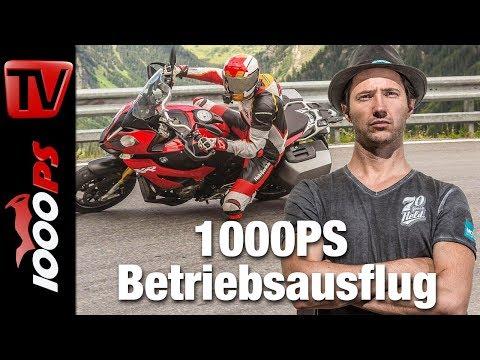Reiseenduro Vergleich in den Alpen - BMW vs. KTM vs. Ducati