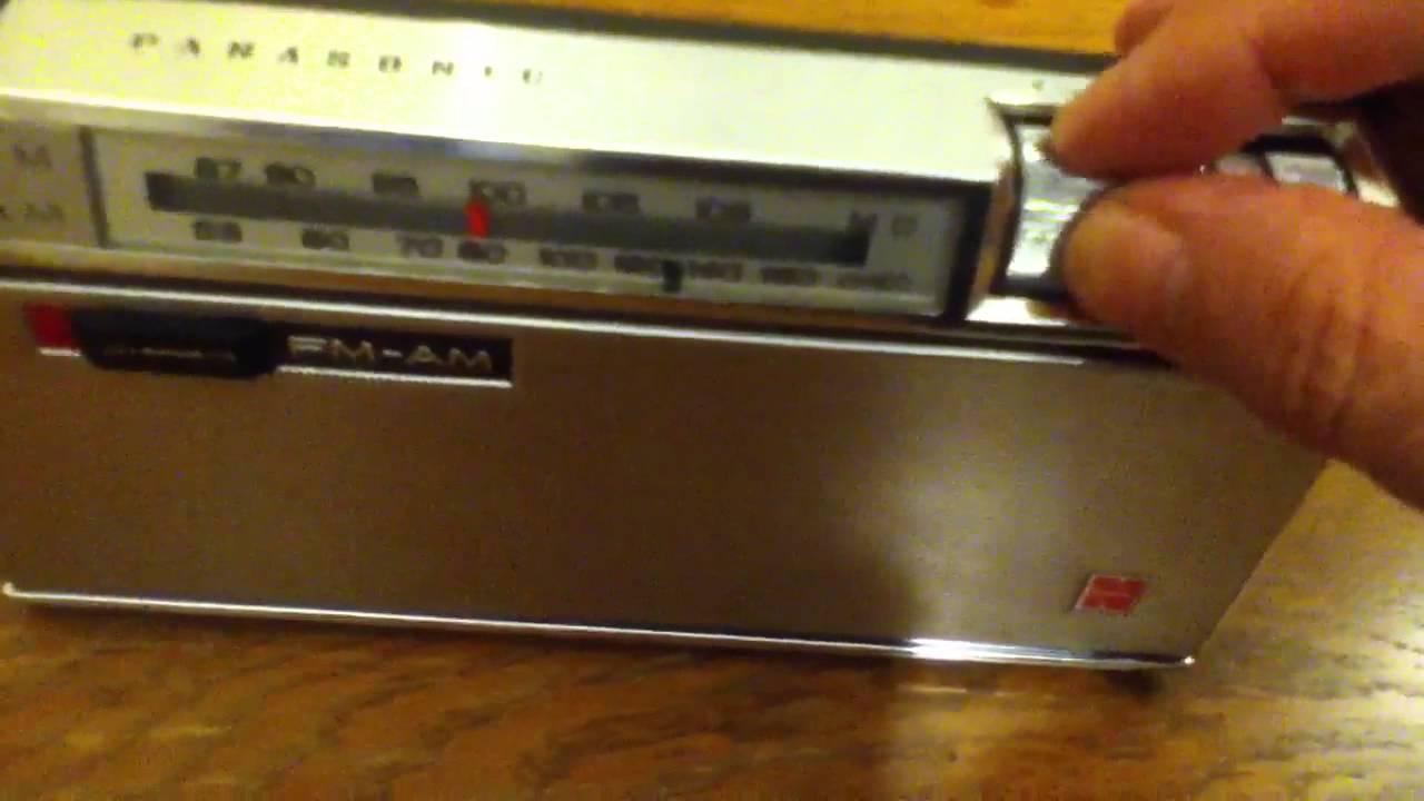 Panasonic Rf-800 Transistor Radio