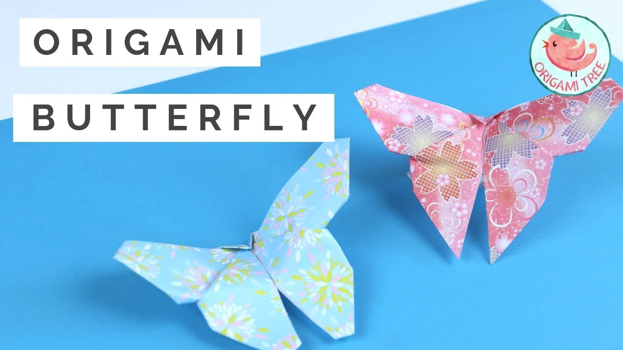 Origami Butterfly :: Mariposa UPDATED VERSION ::Actualizada - YouTube | 720x1280