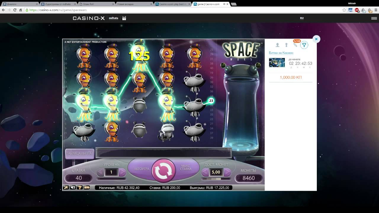 http casino x com