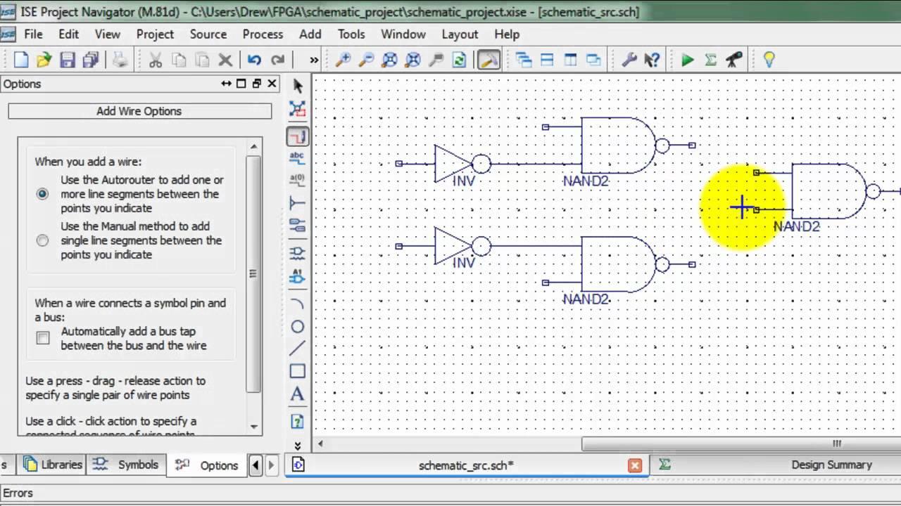 basic schematic input tutorial block diagram xilinx [ 1280 x 720 Pixel ]