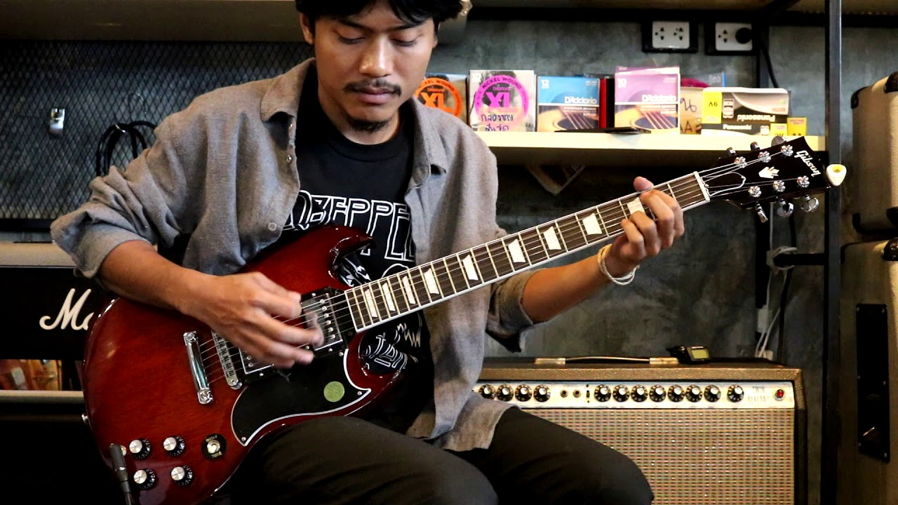 Review Gibson SG Standard 2018 Autumn shade