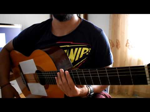 Hamaki - Ma Balash --- ( Guitar Tutorial )