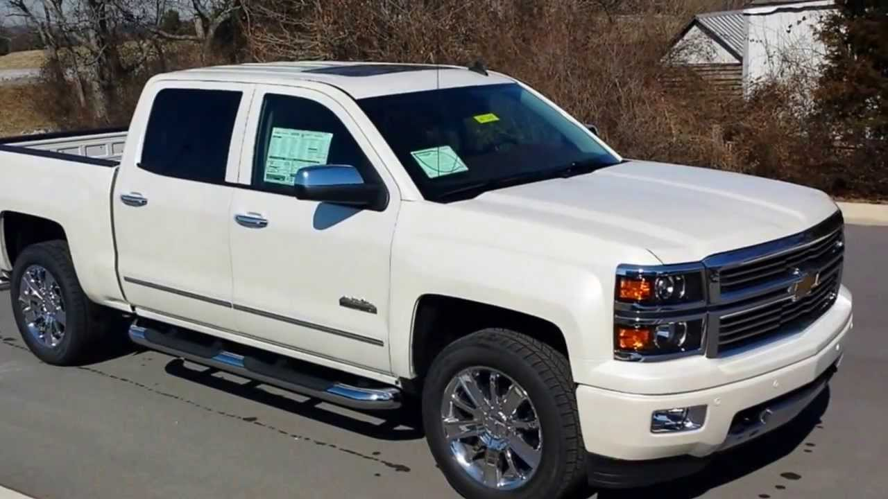 Chevy High Country White >> Sold 2014 Chevrolet Silverado High Country Crew Cab 4x4 5 3 V8