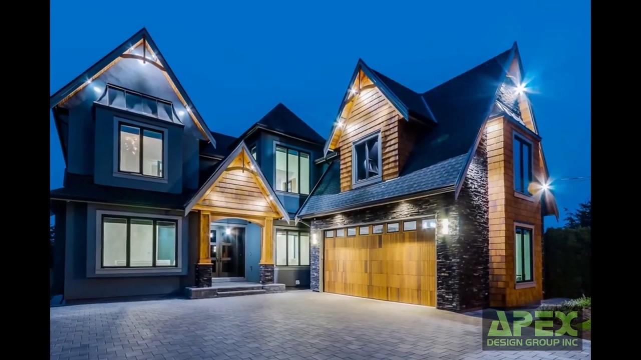 Custom Home In White Rock Apex Design Group Inc Youtube