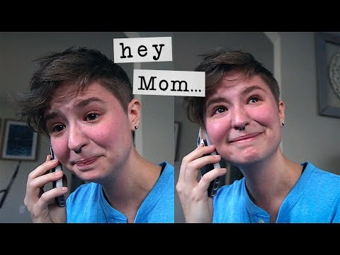 Calling my Mom to tell her I'm Trans 💙 thumbnail