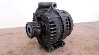 Very Old Alternator Restoration // Structural Recovery