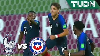 ¡Gran jugada que culmina en gol! | Francia 2 - 0 Chile | Mundial Brasil Sub 17 - J 1 | TUDN