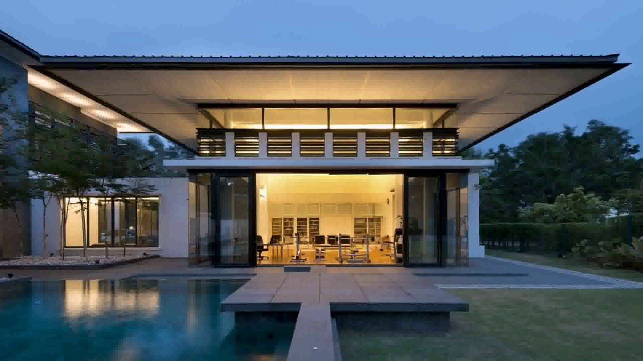 Modern Bungalow House Design In Malaysia See Description Youtube