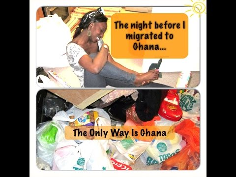 The night before I migrated from London to Ghana!!!