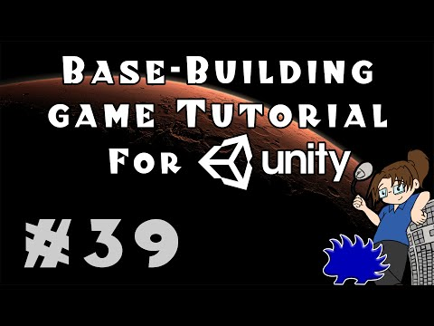 Unity Base-Building Game Tutorial - Episode 39! [Per-Furniture Jobs]