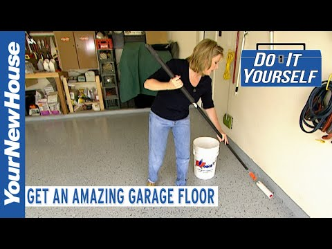epoxy-garage-floor-coating-(amazing-custom-look)---do-it-yourself