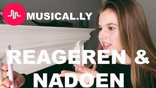MUSICAL.LYS NADOEN EN REAGEREN OP POPULAIRE MUSERS