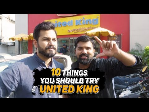 THINGS YOU SHOULD TRY AT UNITED KING