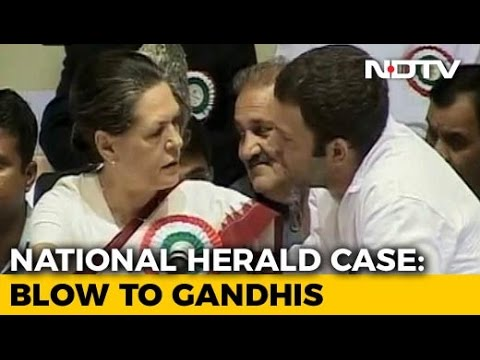 Gandhis To Be Investigated By Tax Officials In National Herald Case
