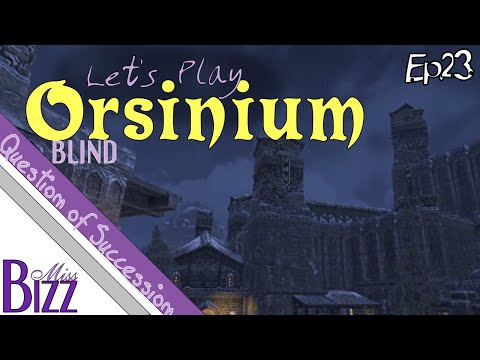 Let's Play ESO: Orsinium Ep. 23 - A Question of Succession